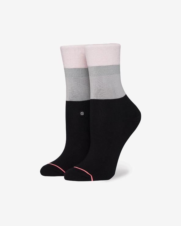 Stance Cara Socken Schwarz Rosa Grau