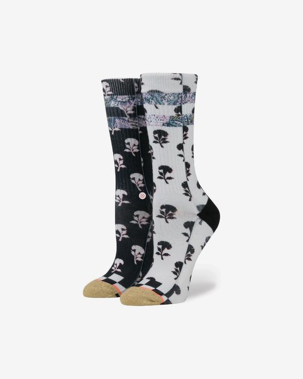 Stance Check It Socken Schwarz Weiß
