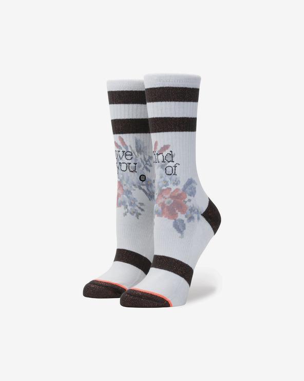 Stance Maybe Baby Socken Schwarz Weiß