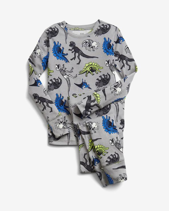 GAP Pyjama Kinder Grau