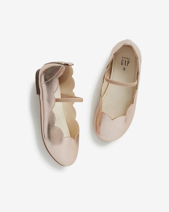 GAP Ballerinas Kinder Beige