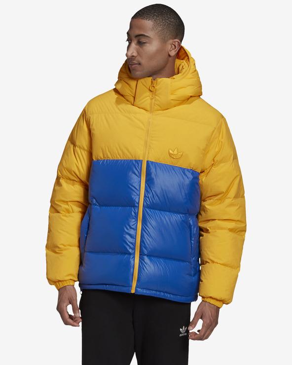 adidas Originals Down Regen Jacket Blau Orange