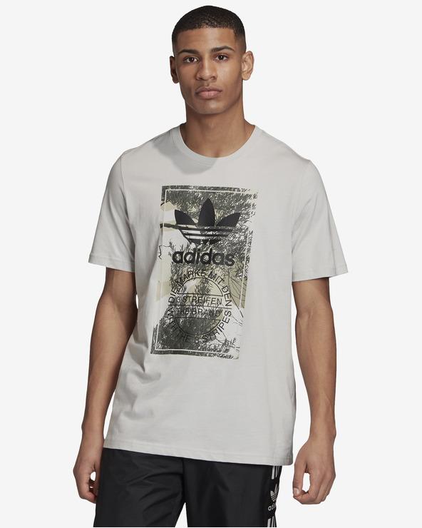 adidas Originals Camo Tongue T-Shirt Grau