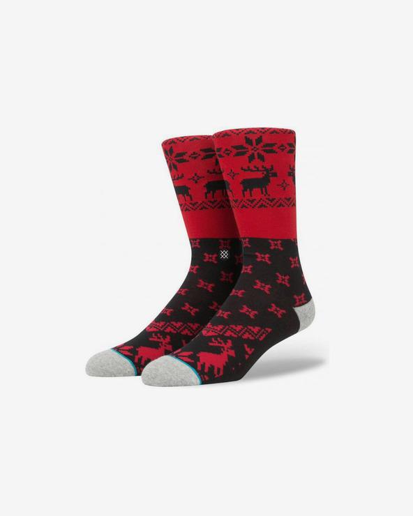 Stance Blitzn Socken Rot