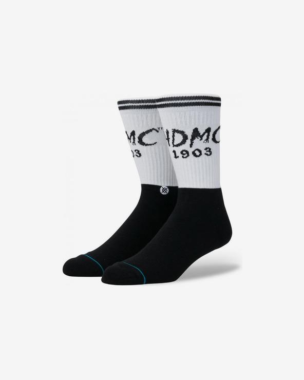 Stance V-Twin Socken Schwarz Weiß
