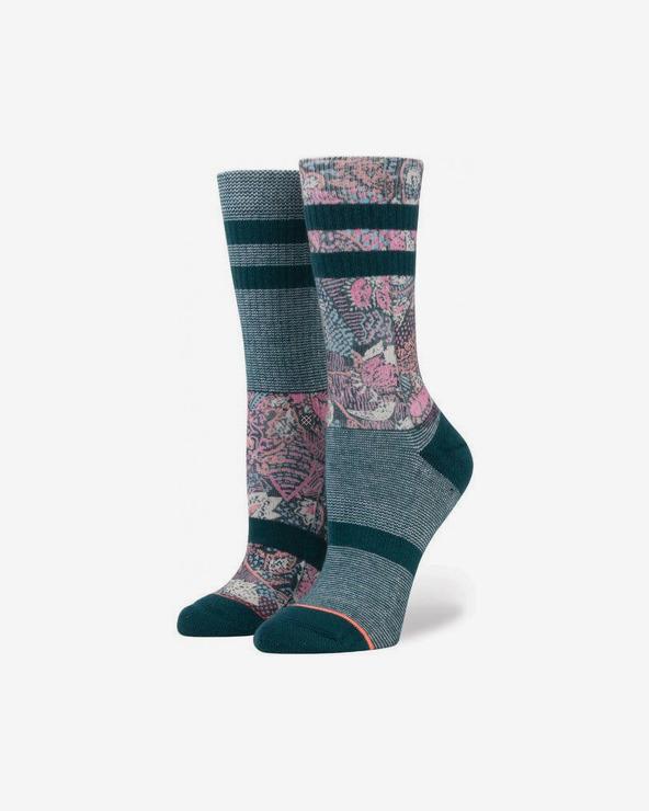 Stance Go East Socken Blau Rosa