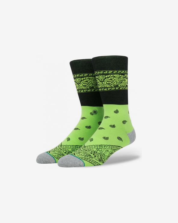 Stance Represent Neon Socken Grün