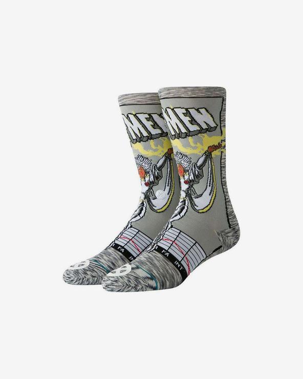 Stance Storm Comic Socken Grau