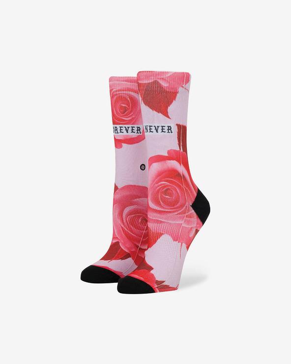 Stance Dedication Tomboy Socken Rot Rosa