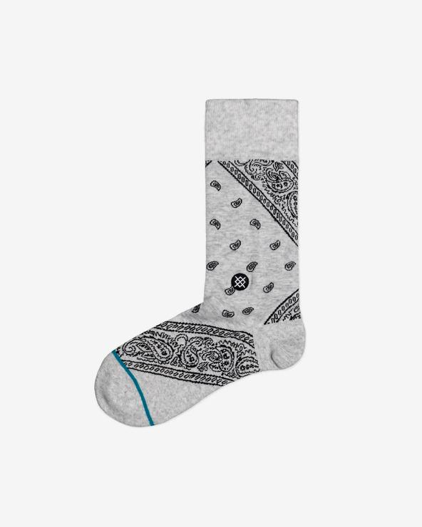 Stance Barrio Socken Grau Beige