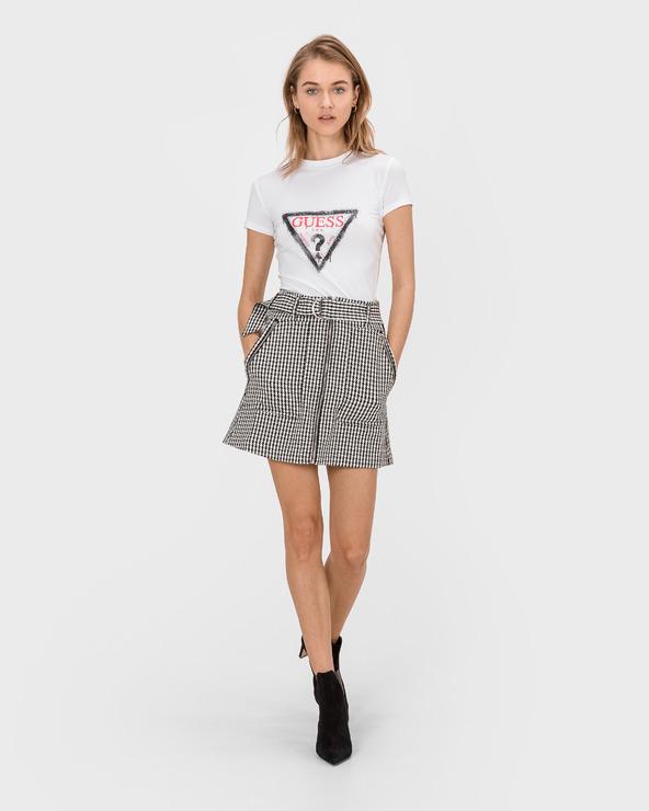 Guess Rafa Skirt Schwarz Weiß