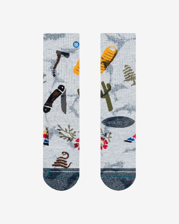 Stance Glenwood Outdoor Socken Grau