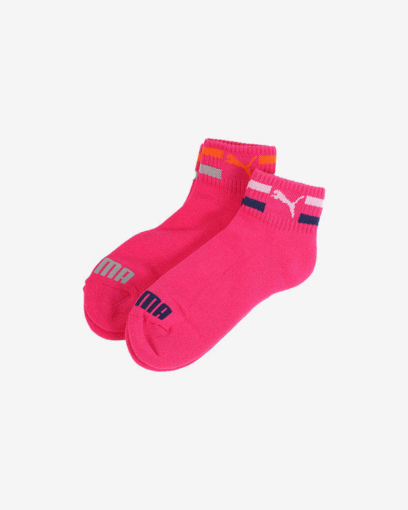 Puma Kids Socks 2 pairs Rosa