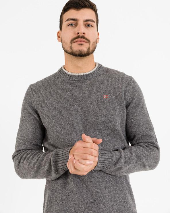 Napapijri Dain Pullover Grau