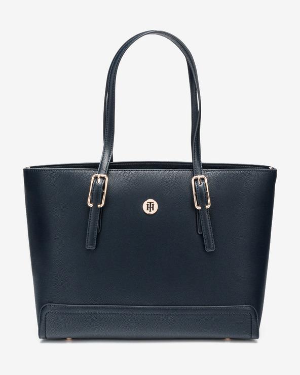 Tommy Hilfiger Honey Medium Handtasche Blau