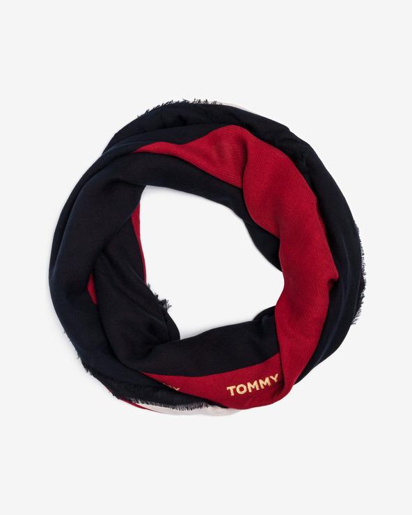 Tommy Hilfiger Corporate Halstuch Blau Rot