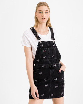 Tommy Jeans Dungaree Šaty s laclem