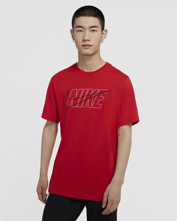 Nike Sportswear T-Shirt Rot