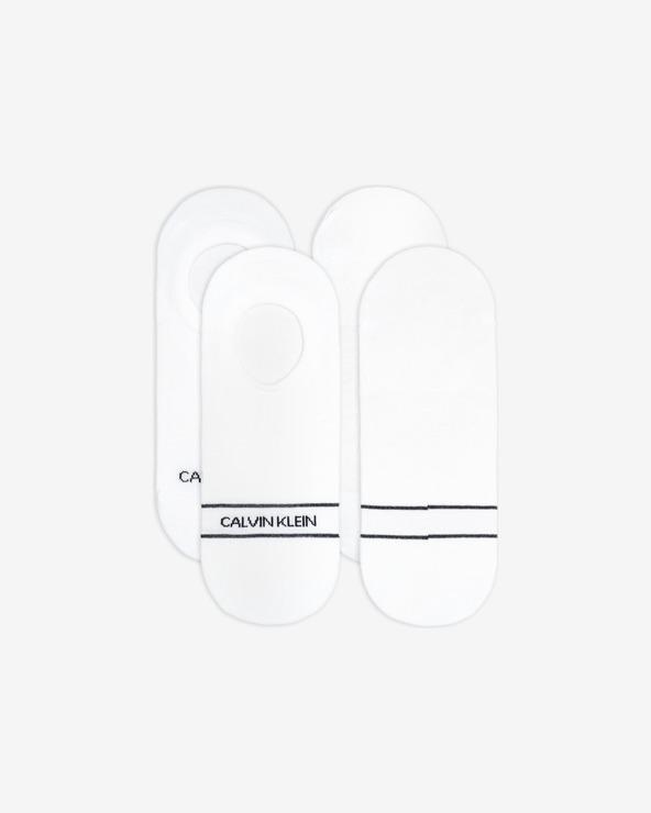 Calvin Klein Socken 2 Paar Weiß