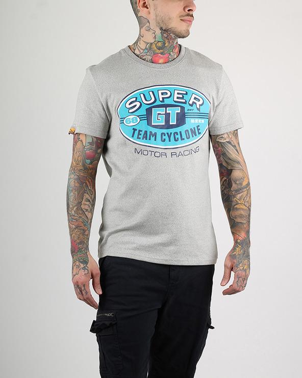 SuperDry Reworked T-Shirt Grau