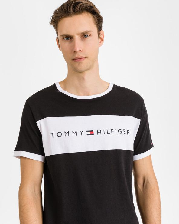 Tommy Hilfiger Sleeping T-shirt Schwarz