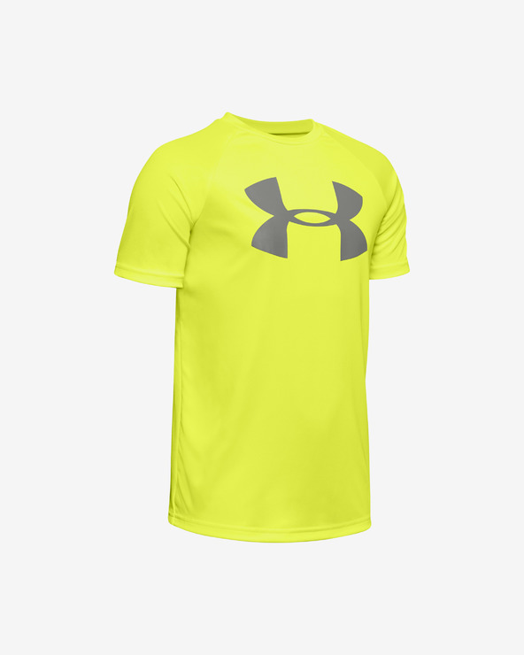 Under Armour Tech™ Kinder  T‑Shirt Gelb