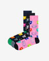 Happy Socks Cat Gift Box Ponožky 3 páry