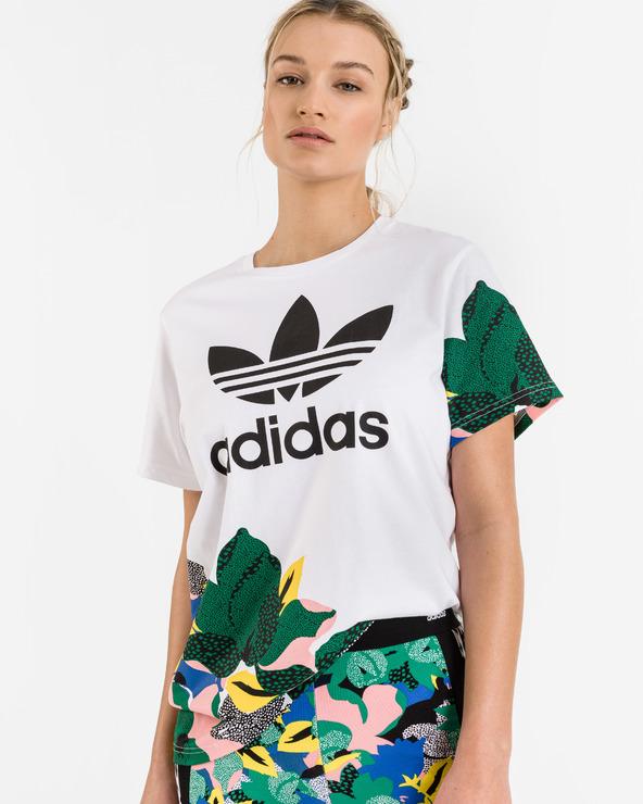 adidas Originals HER Studio London Loose T-Shirt Weiß
