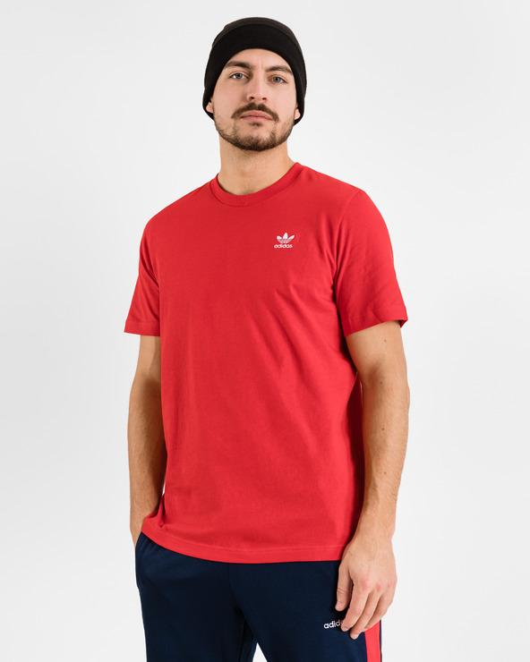 adidas Originals Trefoil Essentials T-Shirt Rot