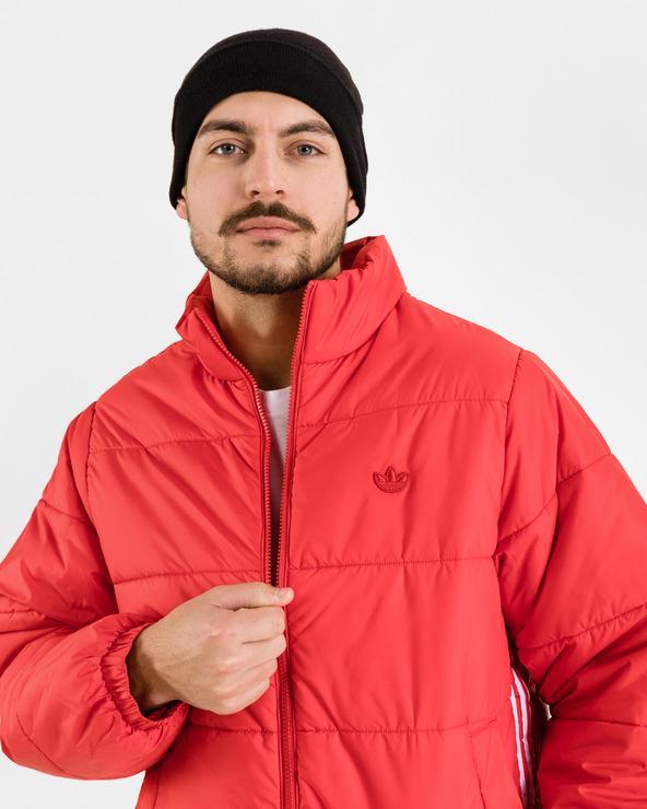 adidas Originals Padded Stand Puffer Jacket Rot