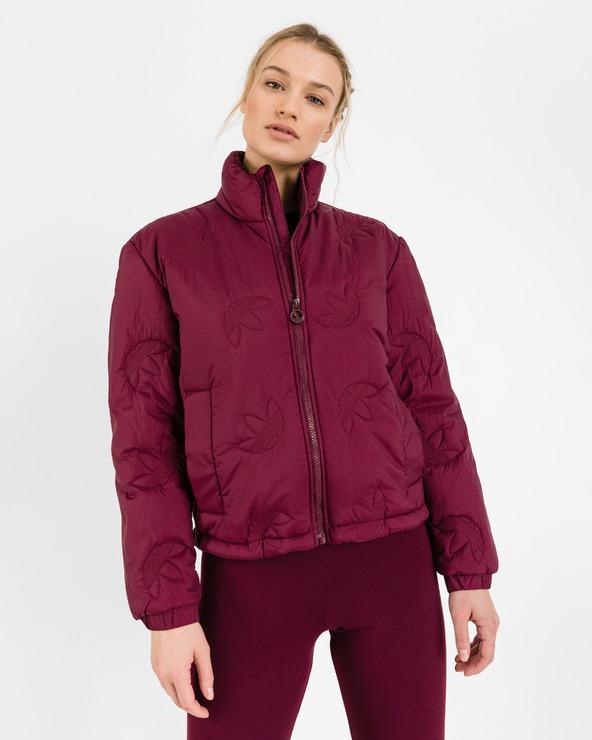 adidas Originals Trefoil Jacke Rot