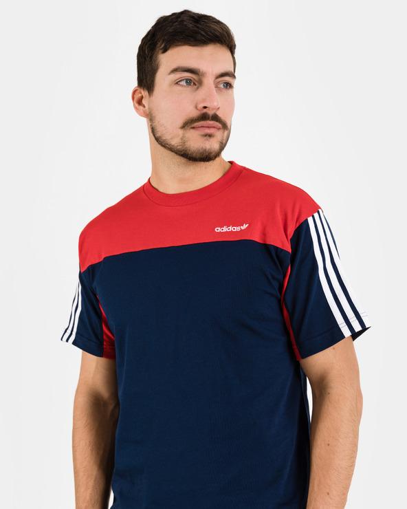 adidas Originals Classics T-Shirt Blau Rot