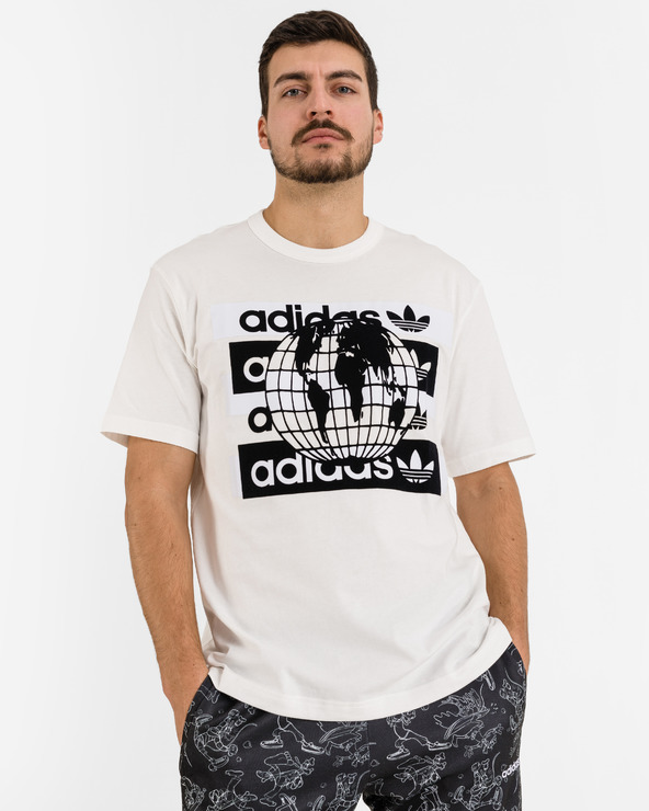 adidas Originals R.Y.V. Message T-Shirt Weiß