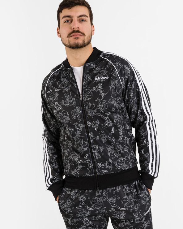 adidas Originals Goofy SST jacket Schwarz