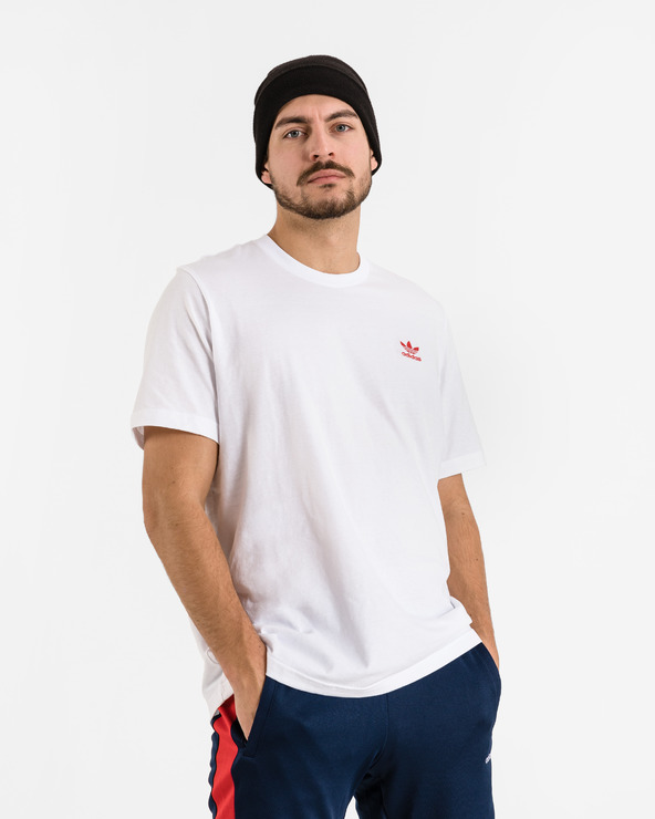 adidas Originals Trefoil Essentials T-Shirt Weiß