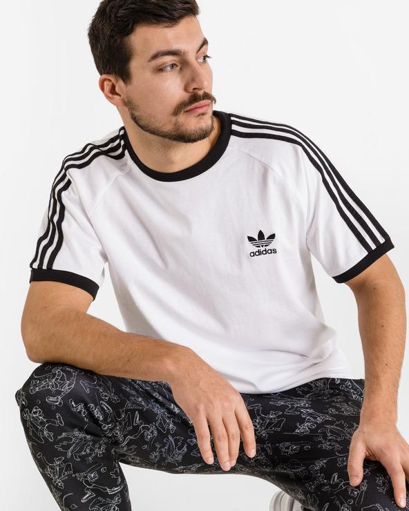 adidas Originals 3-Stripes T-Shirt Weiß