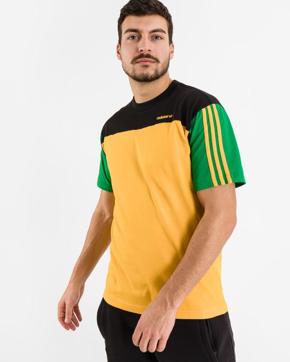 adidas Originals Classics T-Shirt Schwarz Gelb