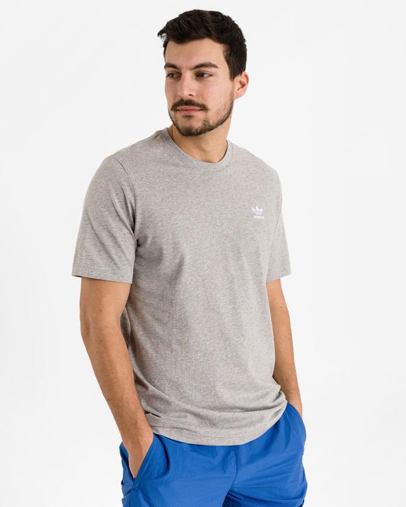 adidas Originals Trefoil Essentials T-Shirt Grau