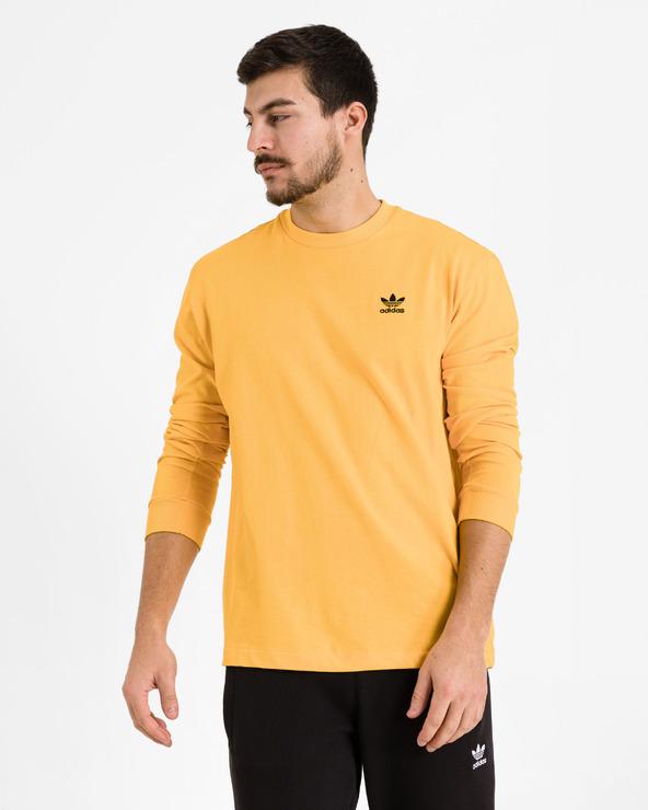adidas Originals Back + Front Print Trefoil T-Shirt Gelb