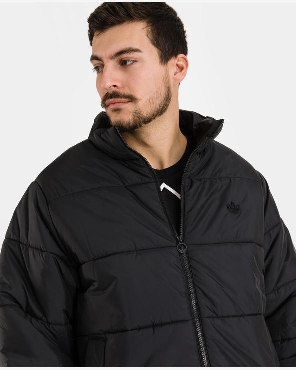adidas Originals Padded Stand Puffer Jacket Schwarz