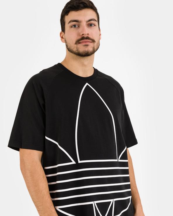 adidas Originals Outline T-Shirt Schwarz