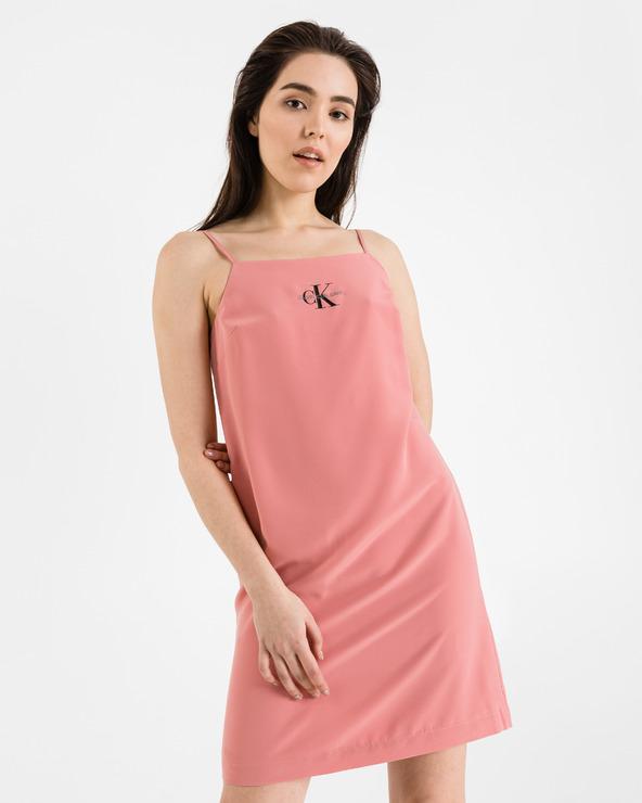 Calvin Klein Kleid Rosa Beige