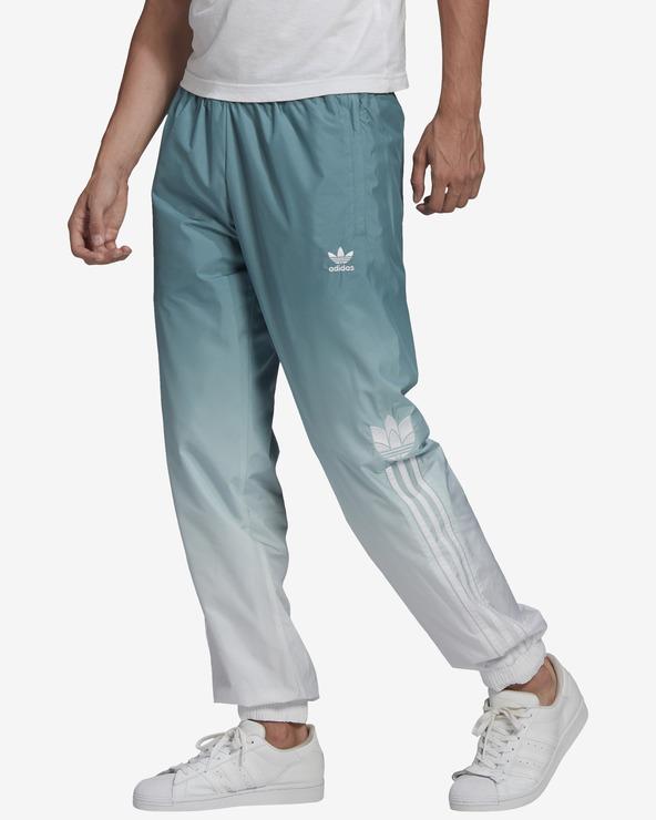 adidas Originals Adicolor 3D Trefoil Ombre Pantaloni de Trening Verde Alb