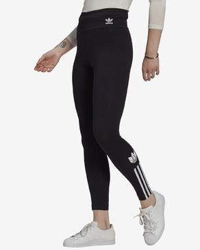 adidas Originals Adicolor 3D Trefoil High-Waisted Legíny