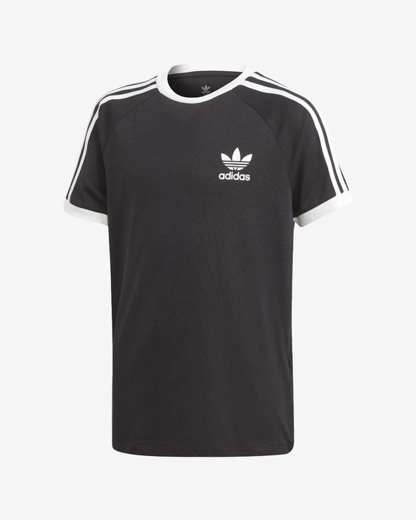 Levně adidas Originals 3 Stripes Triko dětské Černá