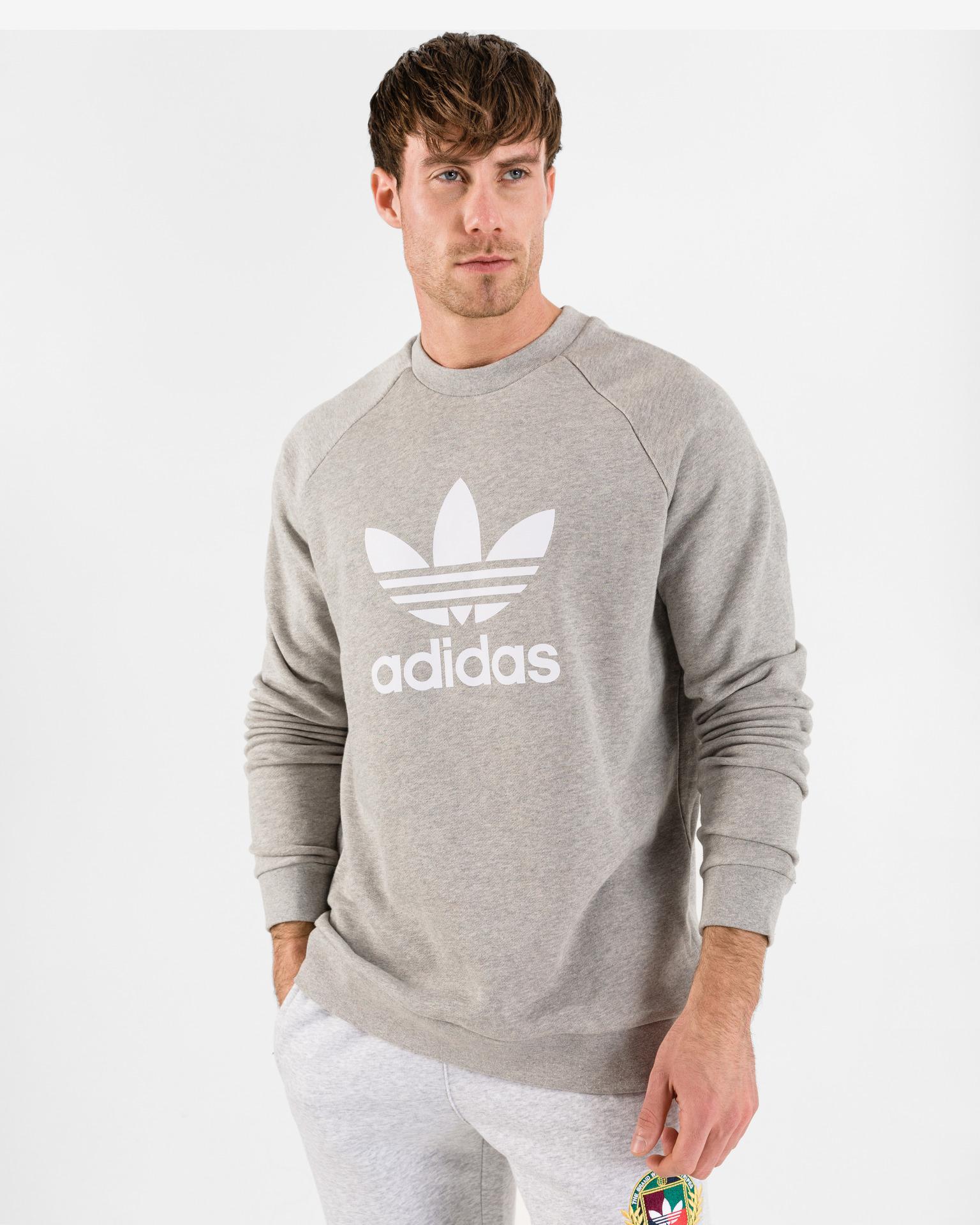 adidas Originals - Trefoil Warm-Up Crew Sweatshirt Bibloo.com