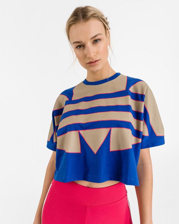 adidas Originals Adicolor Large Logo T-Shirt Blau