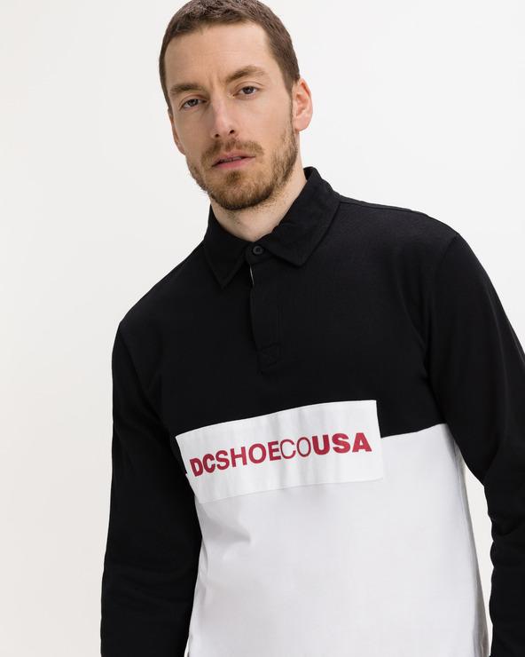 DC Waumbeck Polo T-Shirt Schwarz Weiß