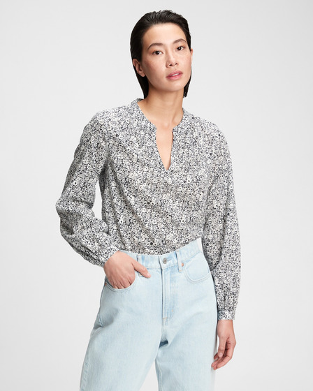 GAP Shirred Popover Halenka