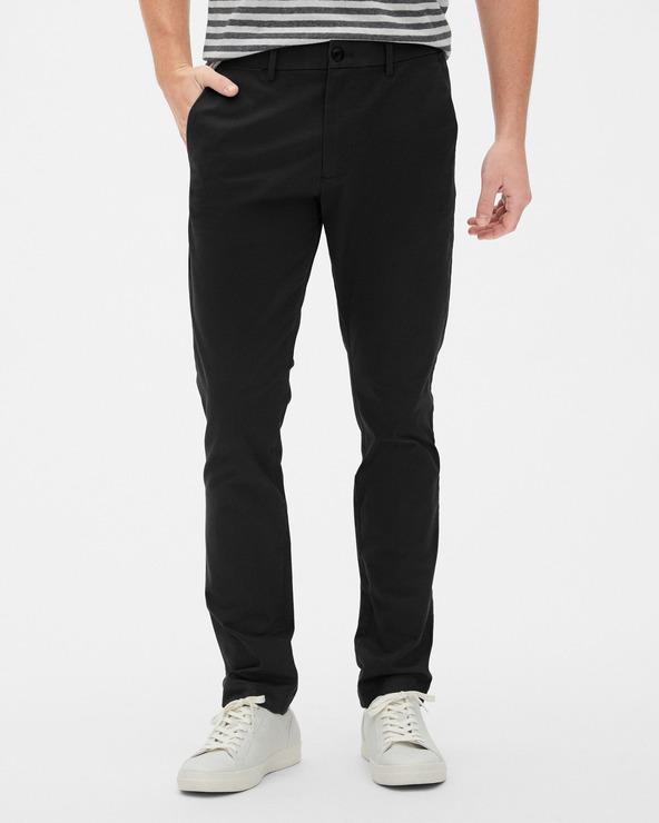 GAP Modern Khakis Pantaloni Negru